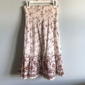 Girls strapless dress